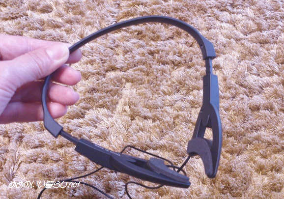 ADAPTiQシステムのヘッドセット