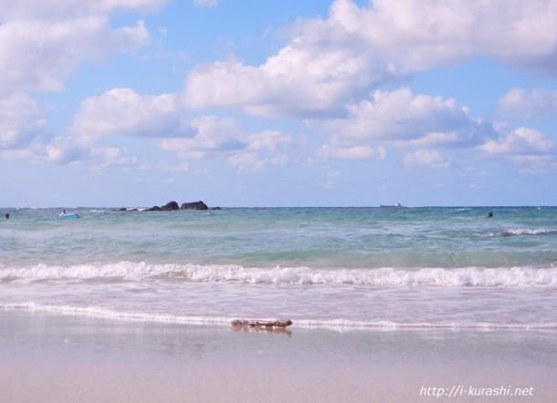 角島・大浜海水浴場美しい砂浜