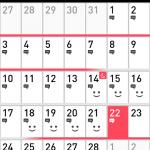 ゆるぴかダイエットカレンダー